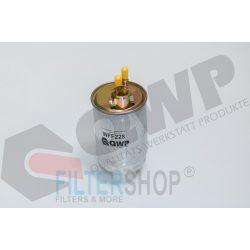QWP WFF228 Gázolajszűrő, üzemanyagszűrő FIAT DOBLO, PALIO, PUNTO, STRADA