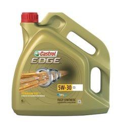 Castrol Edge Titanium FST 5w30 C3 motorolaj 4 Liter AJÁNDÉK autó illatosítóval