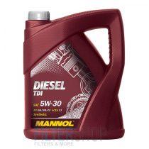 Motorolaj MANNOL Diesel TDi 5w30 5 Liter