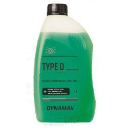 Dynamax Fagyálló hűtőfolyadék Koncentrátum Type D, zöld 1 Liter