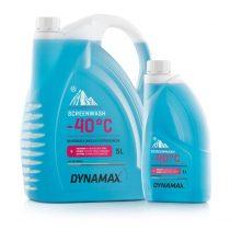 DYNAMAX Téli szélvédőmosó folyadék professzionális felhasználásra -40 °C, 1 Liter