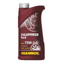 MANNOL Maxpower 4x4 75W-140 API GL5 LS hajtóműolaj 1 Liter