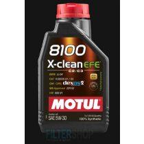 MOTUL 8100 X-Clean EFE 5W30 motorolaj 4 Liter