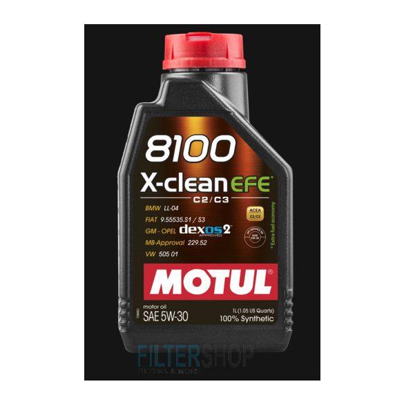 MOTUL 8100 X-Clean FE 5W30 motorolaj 4 Liter