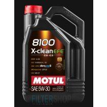 MOTUL 8100 X-Clean EFE 5W30 motorolaj 5 Liter