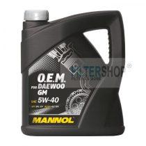 Motorolaj MANNOL O.E.M GM Daewoo 5w40 4 Liter