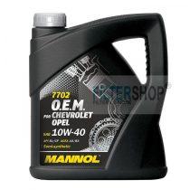 Motorolaj MANNOL O.E.M Chevrolet - Opel 10w40 4 L