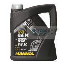 Motorolaj MANNOL O.E.M. Toyota, Lexus 5w30 4 Liter
