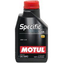 MOTUL Specific LL-04 5W40 1 L motorolaj