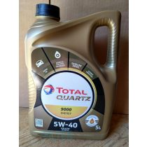 Total QUARTZ 9000 ENERGY 5W40 5 Liter motorolaj