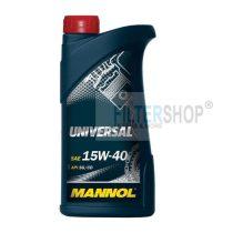 Motorolaj MANNOL Universal 15w40 1 L