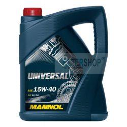 Motorolaj MANNOL Universal 15w40 4 L
