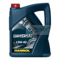 Motorolaj MANNOL Universal 15w40 5 L