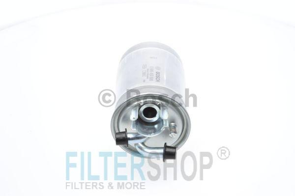 BOSCH 0986450509 Gázolajszűrő, üzemanyagszűrő AUDI A4, A6, A8, ALLROAD, SKODA SUPERB, VOLKSWAGEN PASSAT