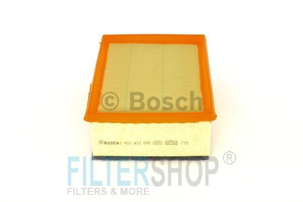 BOSCH 1457433098 Levegőszűrő CITROEN C4, PEUGEOT 307 2.0 HDi