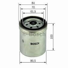 BOSCH 1457434331 Gázolajszűrő, üzemanyagszűrő  MERCEDES C, E, 190, G, S, SPRINTER, VITO, VARIO