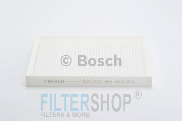 BOSCH 1987432071 Pollenszűrő AUDI A4, A6, ALLROAD, RS4, RS6, S4, S6, SEAT EXEO