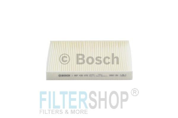 BOSCH 1987432072 Pollenszűrő FIAT DOBLO, IDEA, PUNTO, LANCIA MUSA, YPSILON