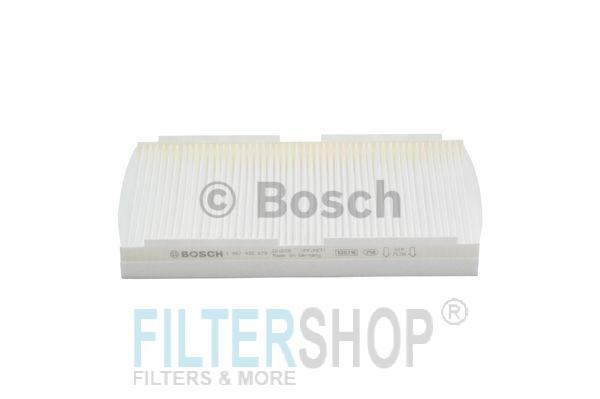 BOSCH 1987432079 Pollenszűrő CITROEN C2, C3, C4, PEUGEOT 1007, 307, 308