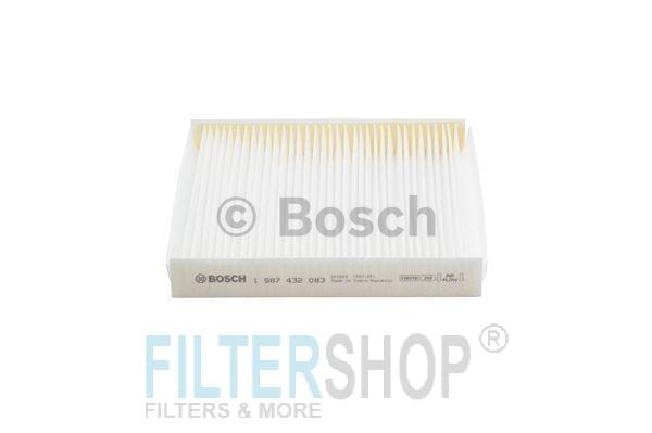 BOSCH 1987432083 Pollenszűrő CITROEN BERLINGO, XSARA II, PEUGEOT PARTNER