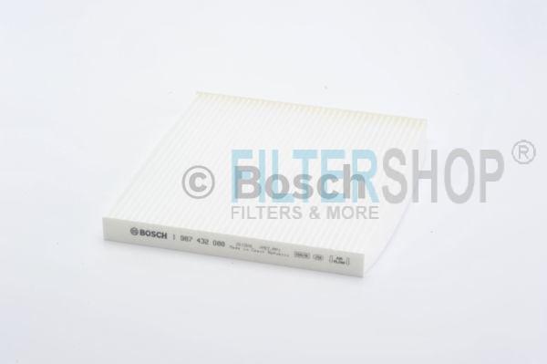 BOSCH 1987432088 Pollenszűrő TOYOTA AVENSIS, COROLLA, COROLLA VERSO