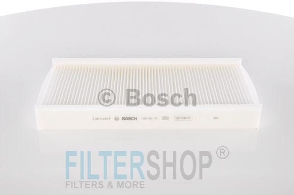 BOSCH 1987432112 Pollenszűrő CITROEN C5, C6, PEUGEOT 407