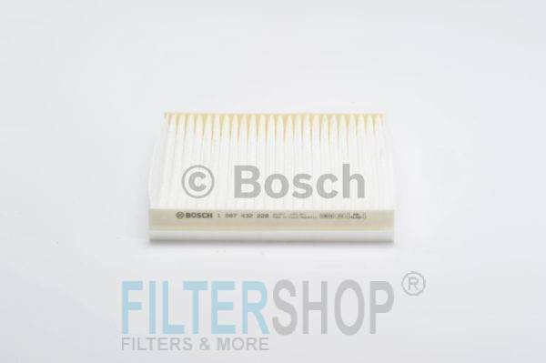 BOSCH 1987432228 Pollenszűrő Citroen Nemo, Fiat Fiorino, Qubo, Peugeot Bipper, Tepee, Opel Combo