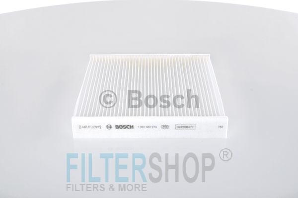 BOSCH 1987432274 Pollenszűrő FORD TRANSIT 2007-