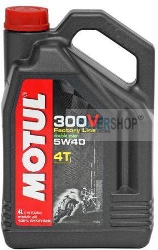 Motul 300V 4T Factory Line 5w40 motorolaj 4 Liter