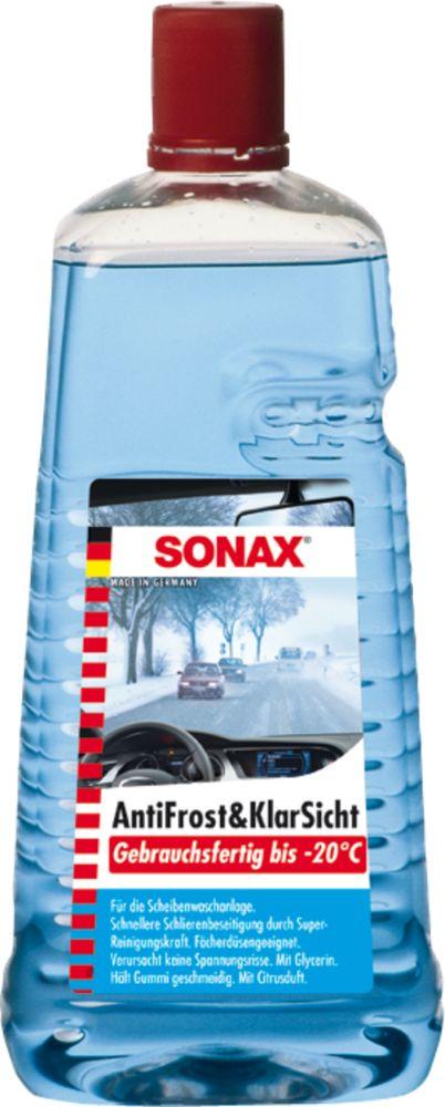SONAX szélvédőmosó, jégoldó -20 °C-ig készkevert 2 Liter
