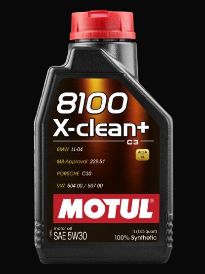 MOTUL 8100 X-clean 5W30 5 L motorolaj