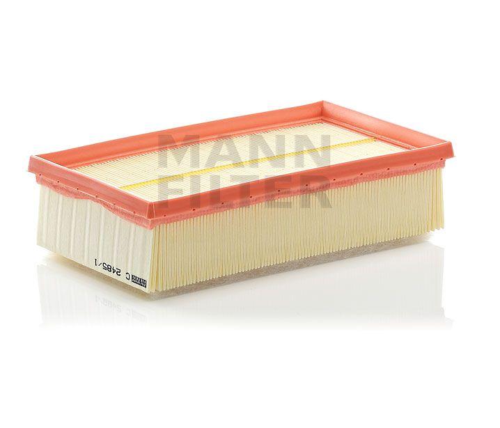 MANN Filter C2485/1 Levegőszűrő NISSAN CUBE, JUKE, MICRA, NOTE, TIIDA, RENAULT CLIO, MODUS
