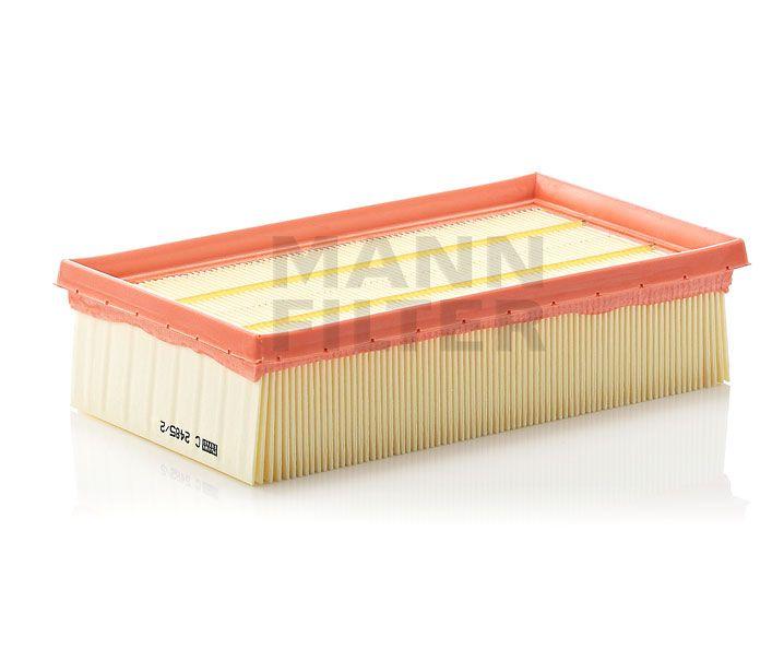 MANN Filter C2485/2 Levegőszűrő NISSAN CUBE, JUKE, MICRA, NOTE, TIIDA, RENAULT CLIO, MODUS