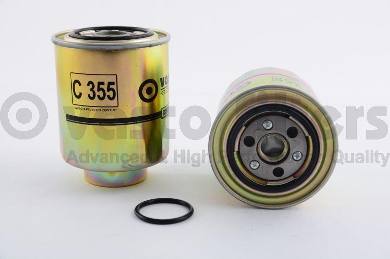 VASCO C355 Gázolajszűrő, üzemanyagszűrő HONDA ACCORD, CIVIC, CR-V, FR-V 2.2 CDTi