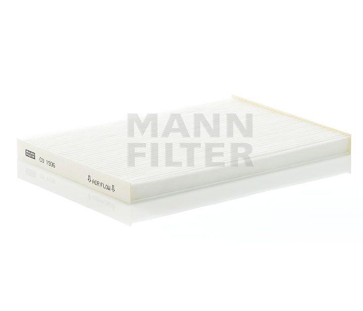 MANN Filter CU1936 Pollenszűrő Nissan Qashqai, X Trail II
