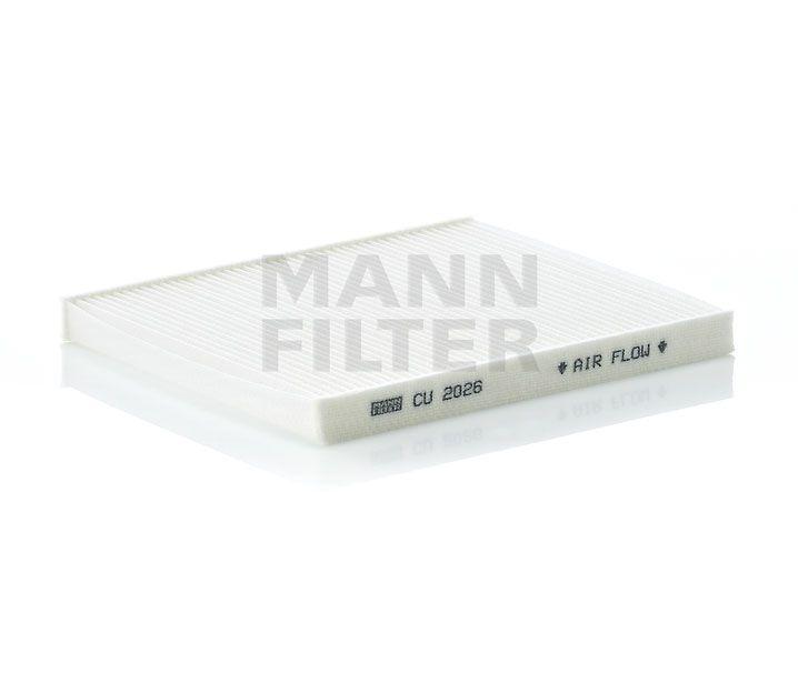 MANN Filter CU2026 Pollenszűrő Fiat 500, Panda, Ford KA, Lancia Ypsilon