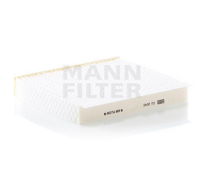MANN Filter CU2040 Pollenszűrő Citroen Nemo, Fiat Fiorino, Qubo, Peugeot Bipper, Tepee, Opel Combo