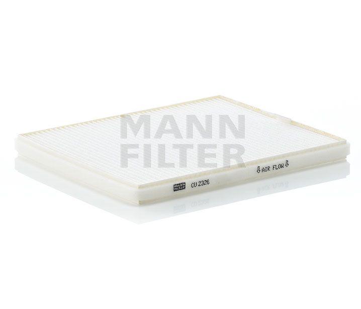 MANN Filter CU2326 Pollenszűrő OPEL AGILA, SUZUKI IGNIS, WAGON R, SUBARU JUSTY