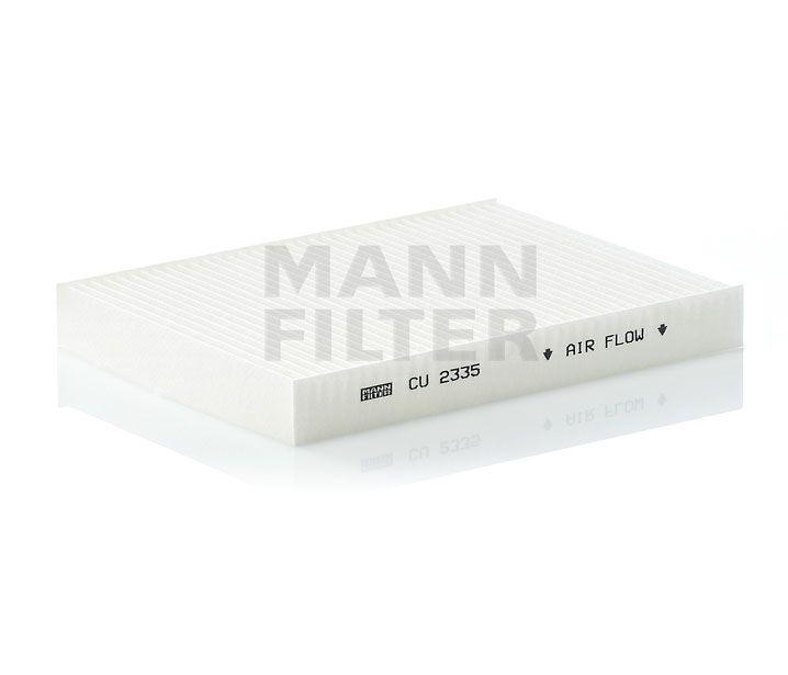 MANN Filter CU2335 Pollenszűrő FIAT DOBLO, IDEA, PUNTO, LANCIA MUSA, YPSILON
