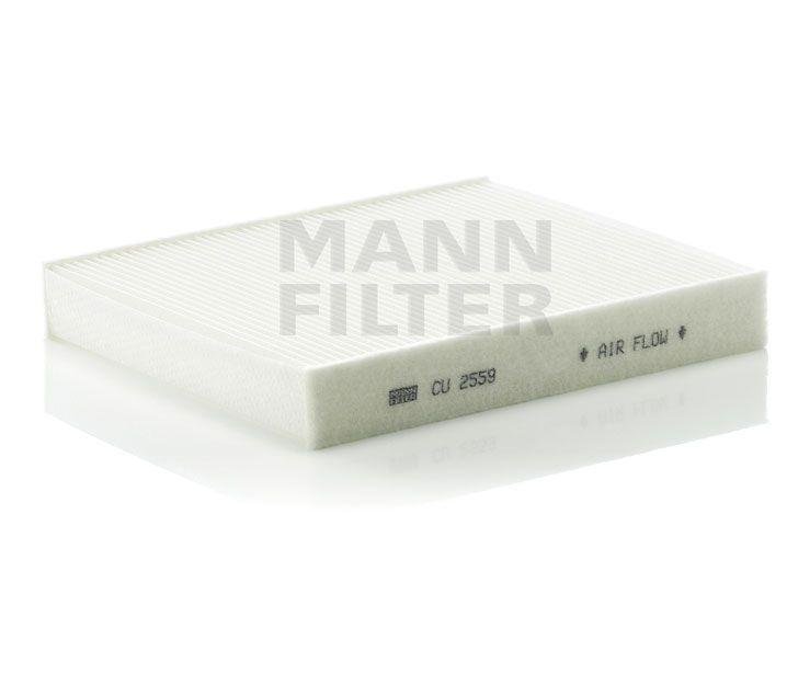 MANN Filter CU2559 Pollenszűrő FORD C MAX, FOCUS, GALAXY, KUGA, MONDEO, S MAX