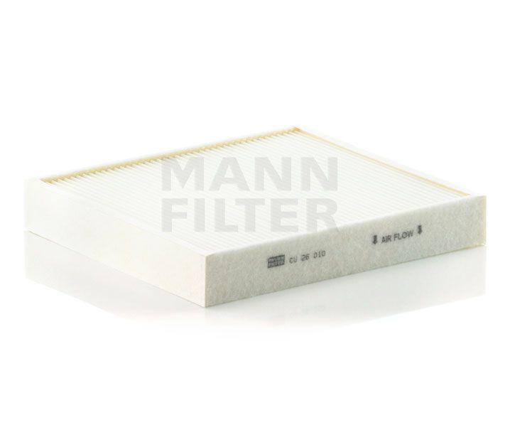 MANN Filter CU26010 Pollenszűrő Audi, Seat, Skoda, Volkswagen