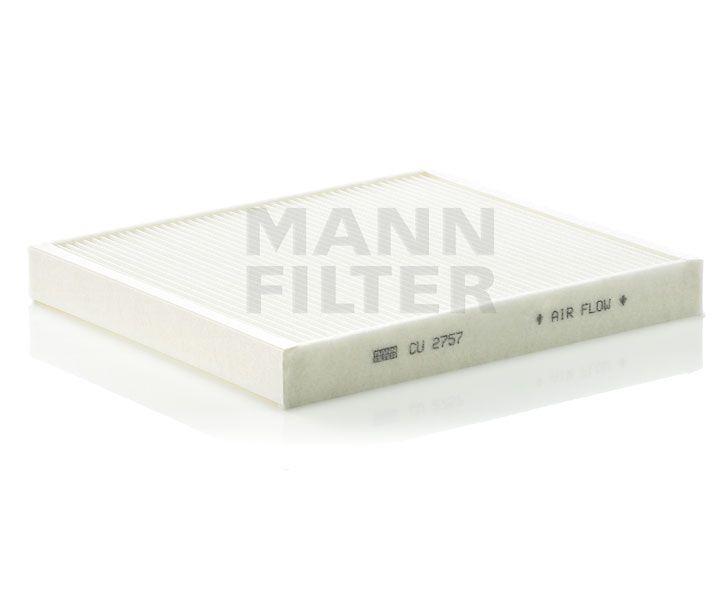 MANN Filter CU2757 Pollenszűrő OPEL ASTRA G, ZAFIRA A, ZAFIRA B - BEHR KLÍMA