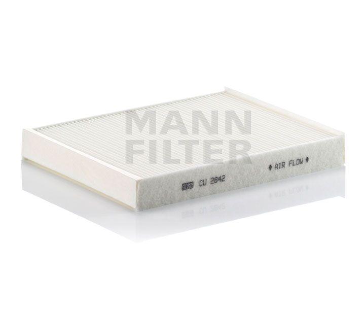 MANN Filter CU2842 Pollenszűrő AUDI Q7, PORSCHE CAYENNE, VW TOUAREG, T5, T6, AMAROK