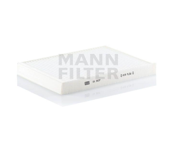 MANN Filter CU3037 Pollenszűrő AUDI A4, A6, ALLROAD, RS4, RS6, S4, S6, SEAT EXEO