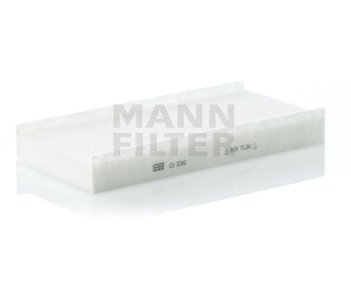 MANN Filter CU3240 Pollenszűrő CITROEN C5, C6, PEUGEOT 407