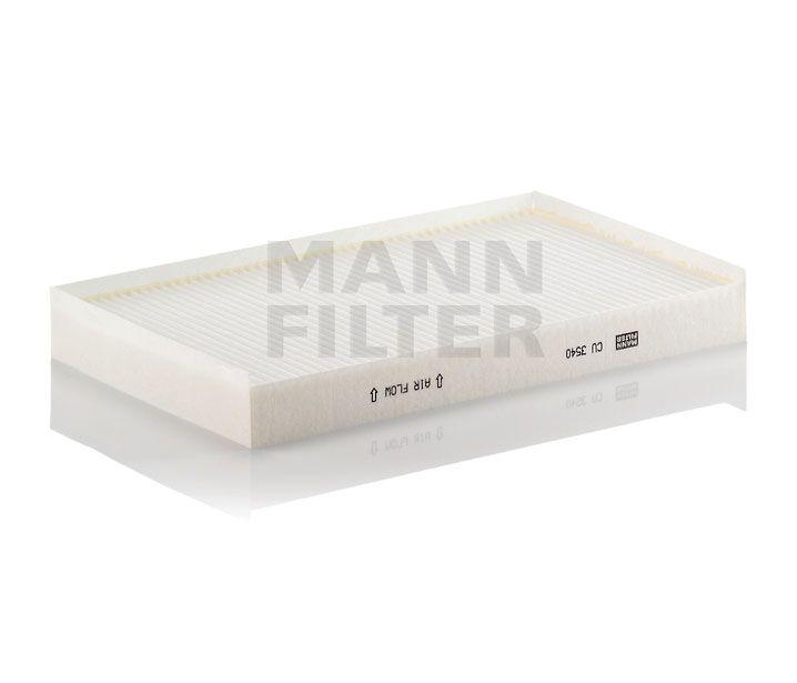 MANN Filter CU3540 Pollenszűrő MERCEDES VIANO, VITO