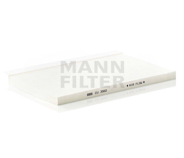 MANN Filter CU3562 Pollenszűrő AUDI A6, S6