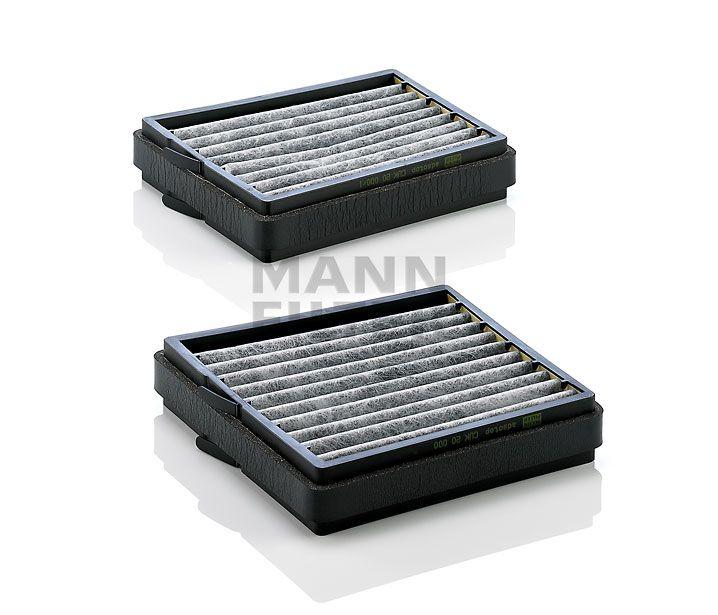 MANN Filter CUK20000-2 Aktívszenes Pollenszűrő MERCEDES C, CLC, CLK