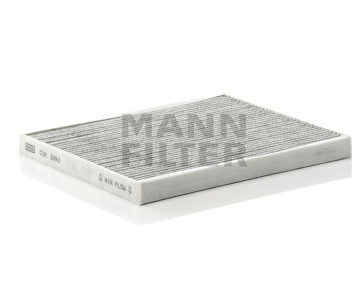 MANN Filter CUK2243 Aktívszenes pollenszűrő ALFA MiTO, FIAT GRANDE PUNTO, PUNTO EVO, QUBO, OPEL CORSA