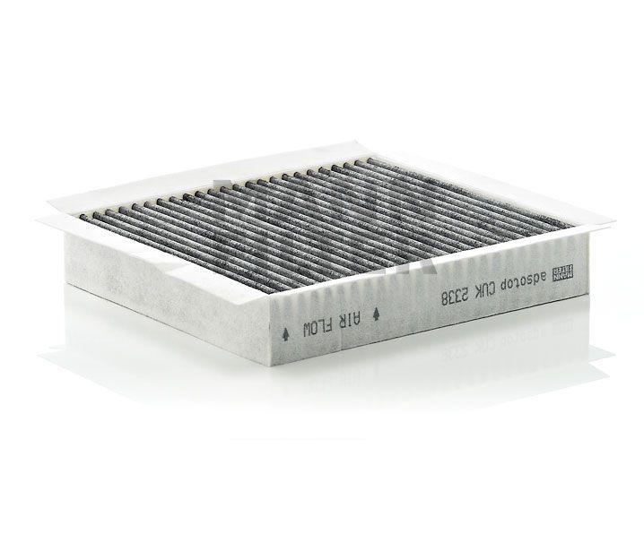 MANN Filter CUK2338 Aktívszenes pollenszűrő MERCEDES W163